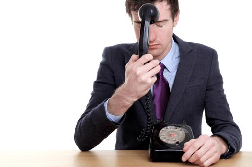 Cold caller frustration