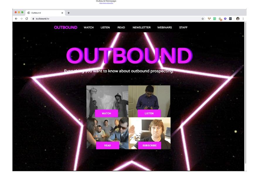 Showcasing Outbound.TV