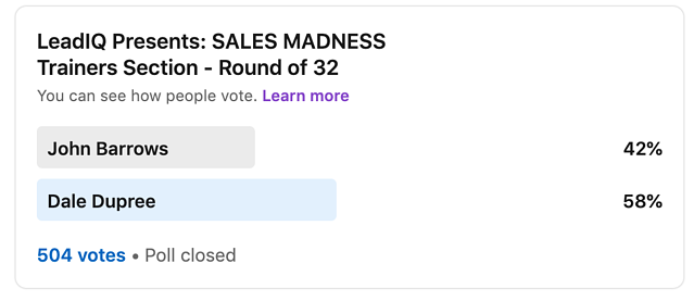 Sales Madness Dale Dupree
