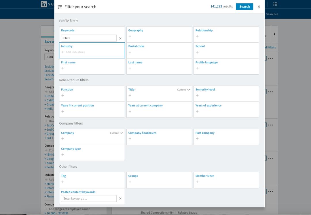 linkedin-filter-search