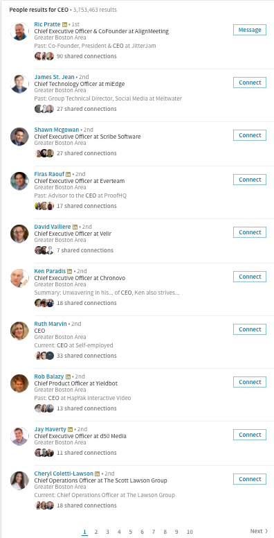 linkedin-results-for-ceo