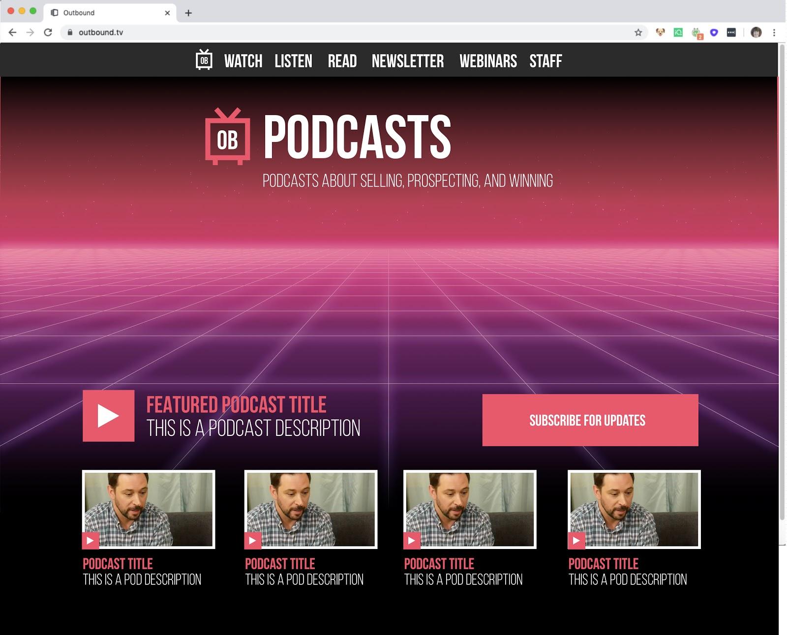 Final Podcast Design